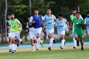 عکس | تمرین تیم امید در سونگالا | شماره پیراهن بازیکنان امید ایران در انتخابی المپیک