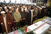 عبارتی که رهبر انقلاب ۳ بار در نماز بر پیکر سردار سلیمانی تکرار کردند