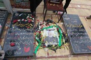 تصاویر محل خاکسپاری سردار شهید قاسم سلیمانی