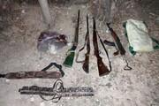 دستگیری یک باند حرفهای شکار غیر مجاز در شهرستان دلفان