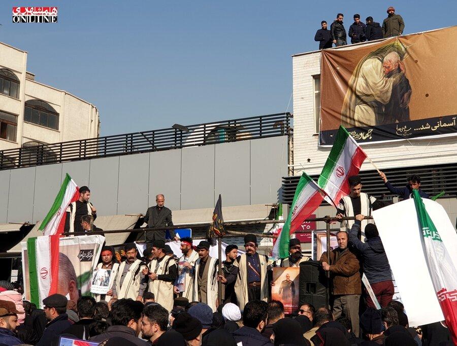 مراسم تشييع سردار سليماني   ميدان انقلاب