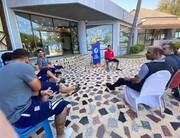 تیم خبری کنفدراسیون فوتبال آسیا در اردوی تیم امید   مصاحبه با تازه داماد تیم