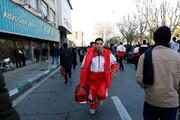 امدادرسانی به ۴ هزار نفر در مراسم تشییع پیکر سردار سلیمانی در تهران