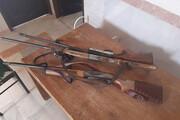 ۱۴ سلاح شکاری در خراسان رضوی کشف شد