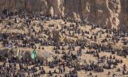 فیلم | تصاویری حیرتانگیز از مراسم تشییع سردار شهید قاسم سلیمانی در کرمان