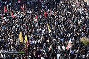تصاویر مراسم باشکوه تشییع پیکر سردار شهید سلیمانی در کرمان