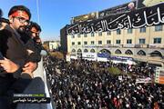 تصاویر | جمعیت باشکوه حاضر در تشییع پیکر سردار شهید سلیمانی در کرمان