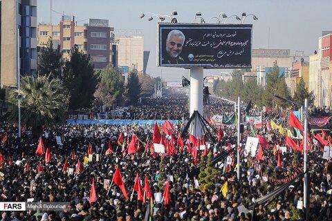تشییع و خاکسپاری سردار شهید حاج قاسم سلیمانی در کرمان