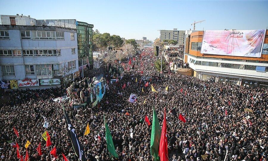 ازدحام جمعیت-کرمان