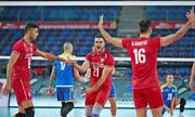 والیبال انتخابی المپیک؛ پیروزی تیم مردان ایران برابر قزاقستان