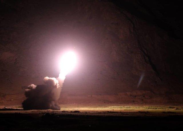 عمليات موشكي ايران