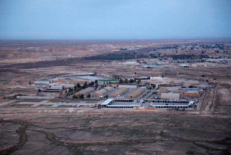 عکس آرشیوی/ تصویری هوایی از پایگاه عین الاسد/ آسوشیتدپرس