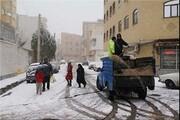 برف تهران؛ معابر باز است | آمادگی ۱۴ هزار نیروی شهرداری