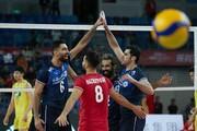 والیبال ایران به المپیک نزدیکتر شد | پیروزی قاطع مقابل چین