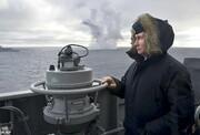 فیلم | آزمایش موشک ابرصوت کینژال و موشک کروز کالیبر در حضور پوتین