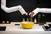 عکس روز | آشپزی ربات هوشمند سامسونگ