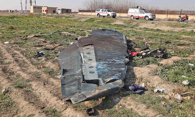 سقوط هواپيماي اوكرايني