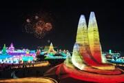 عکس روز| جشنواره بینالمللی یخ و برف چین