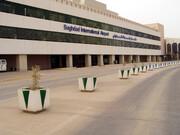 بسته شدن فرودگاه بینالمللی بغداد به دست نظامیان آمریکایی