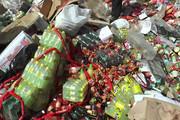۶ هزار کیلوگرم مواد غذایی تاریخ گذشته نابود شد