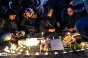 تصاویر و روایت فارس از اعتراض دانشجویان به سقوط هواپیما