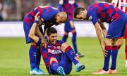 بدبیاری بارسلونا؛ دوری ۶ هفتهای سوارز از میادین