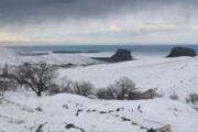 تصویر   حال و هوای زمستانی کاظمداشی ارومیه