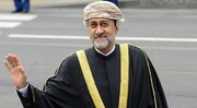 فیلم | بیاعتنایی عجیب پادشاه جدید عمان به ولیعهد ابوظبی