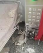 فیلم | ریزش سقف بخش مراقبتهای ویژه در بیمارستان