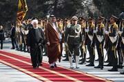 تصاویر   روز شلوغ مقامات ایران و ۳ رویداد مهم دیپلماتیک    مذاکرات خصوصی روحانی و امیر قطر