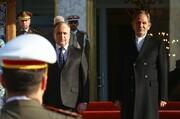 تصاویر | کدام مقام دولتی به استقبال نخست وزیر سوریه رفت | عماد الخمیس با شمخانی دیدار کرد