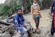 تصاویر | سیستان و بلوچستان ؛ همچنان گرفتار سیل و سیلاب