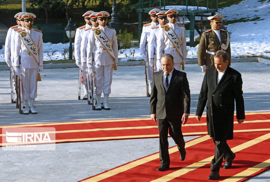 نخست وزیر سوریه و اسحاق جهانگیری