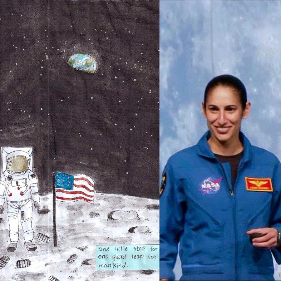 First Iranian astronaut