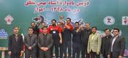 خوزستان فاتح مسابقات وزنهبرداری بزرگسالان کشور شد