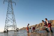 برق ۲۰ روستای سیلزده جاسک به مدار برگشت