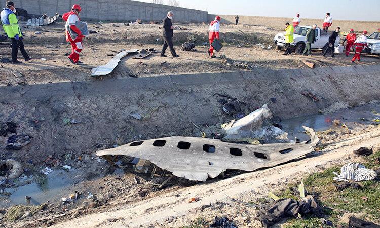 درخواست کشورهای مرتبط با هواپیمای اوکراینی از ایران برای تحویل جعبههای سیاه