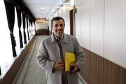 تصاویر | از راهروهای مجمع تا جلسه رسمی | احمدی نژاد، واکنشش به عکاسان و تکذیب یک شایعه | گفتگوی رئیس با رئیسی