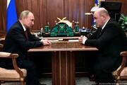 میشوستین، نخستوزیر روسیه شد