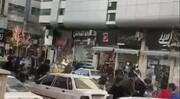 فیلم | وحشتناک است؛ درگیری با قمه وسط خیابان