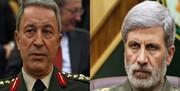 جزئیات مکالمه تلفنی وزیر دفاع ایران با وزیر دفاع ترکیه در مورد ترور سردار سلیمانی