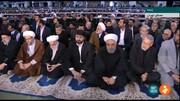 عکس | حضور روحانی، لاریجانیها و رئیسی در مراسم نماز جمعه تهران