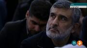 عکس | حضور سردار حاجیزاده در نماز جمعه تهران به امام رهبری