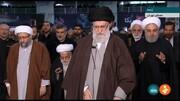 عکس | اقامه نماز جمعه به امامت رهبر معظم انقلاب در مصلی امام خمینی (ره)