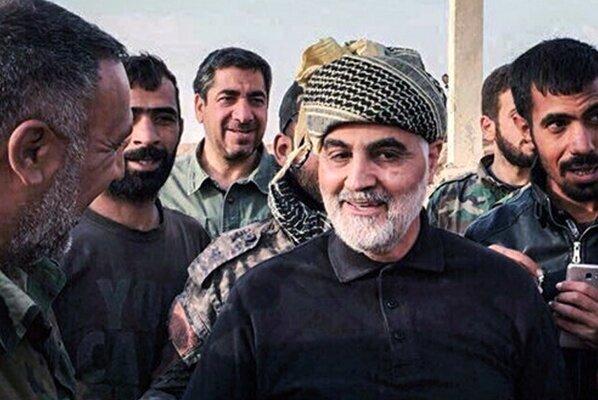 سردار سلیمانی در سوریه ما را 2 تا گلوله می ترسانی