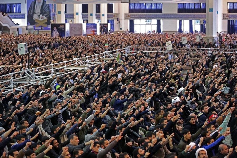 تصاویر پایگاه اطلاع رسانی دفتر مقام معظم رهبری از نمازجمعه امروز