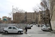 کانکس نیروی انتظامی به شهرک شهید بروجردی می آید