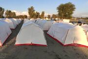 اسکان ۸ هزار و ۸۷۷ سیلزده در چادرهای امدادی هلال احمر