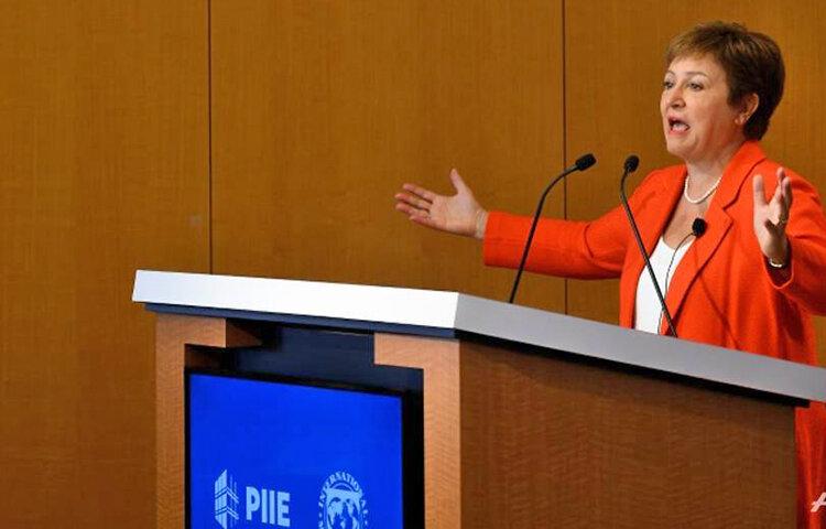 کریستالینا جورجیوا رئيس صندوق بينالمللي پول