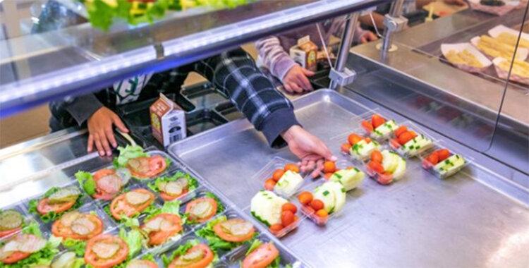 غذاي مدارس